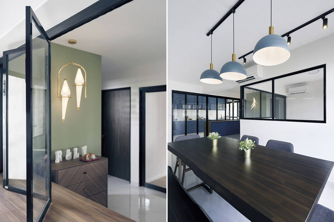 Open concept and flexible floor plan by Archive Design
