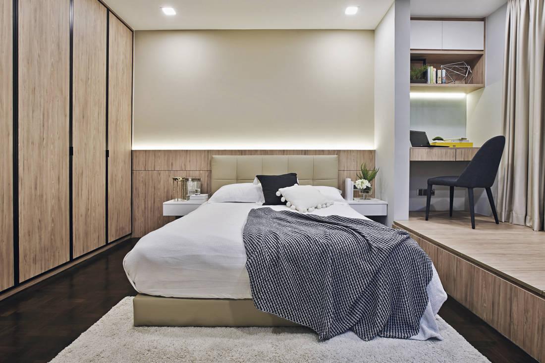 urban cocoon | Design of Schatz - bedroom