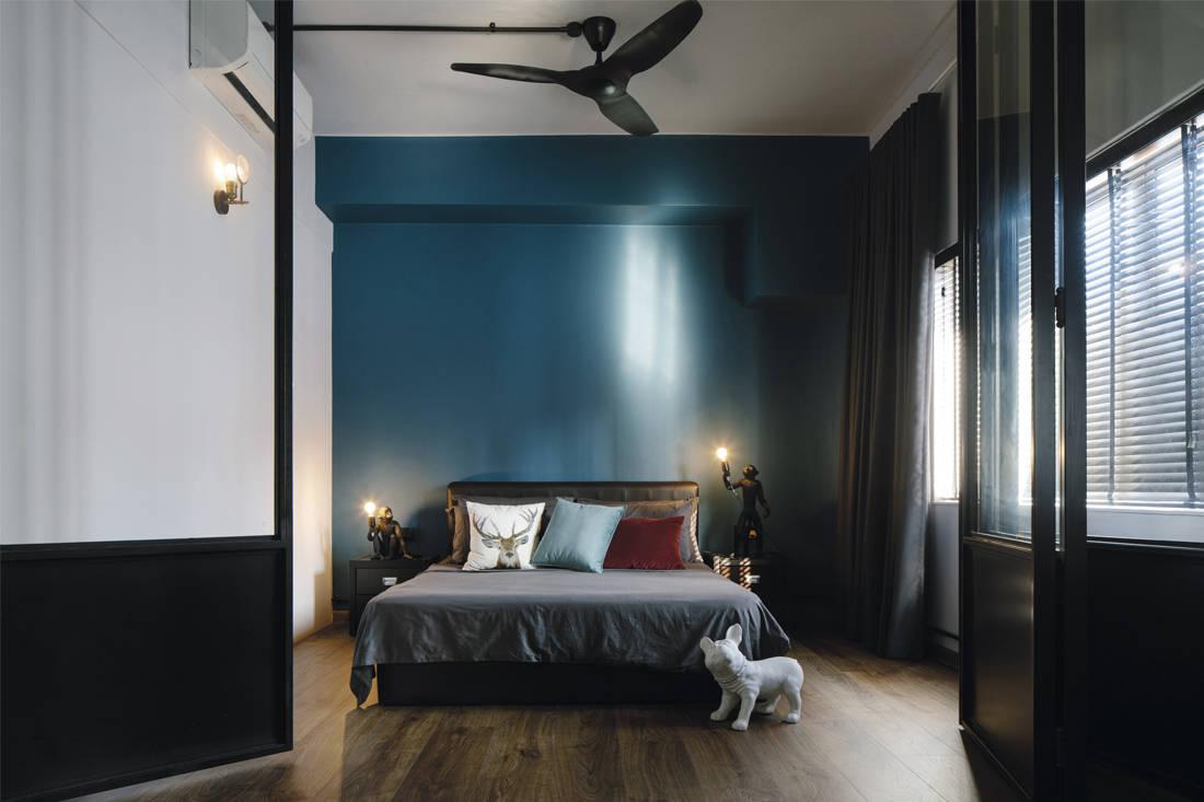 steampunk man cave | three-d conceptwerke - bedroom