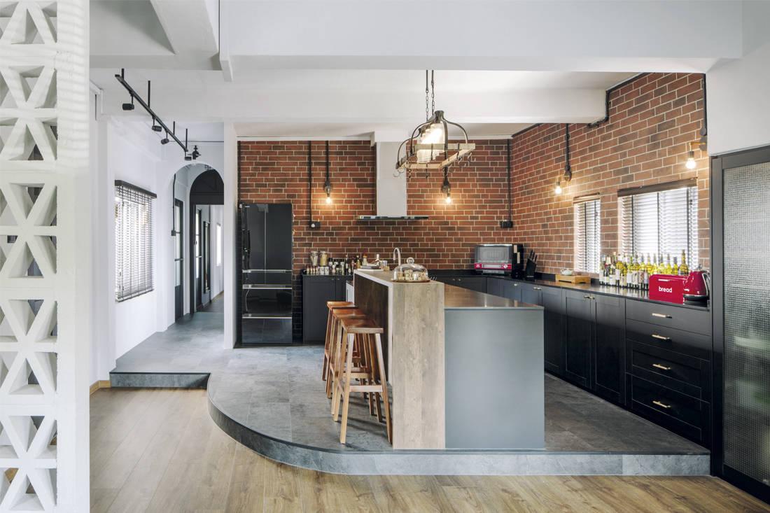 steampunk man cave | three-d conceptwerke - kitchen