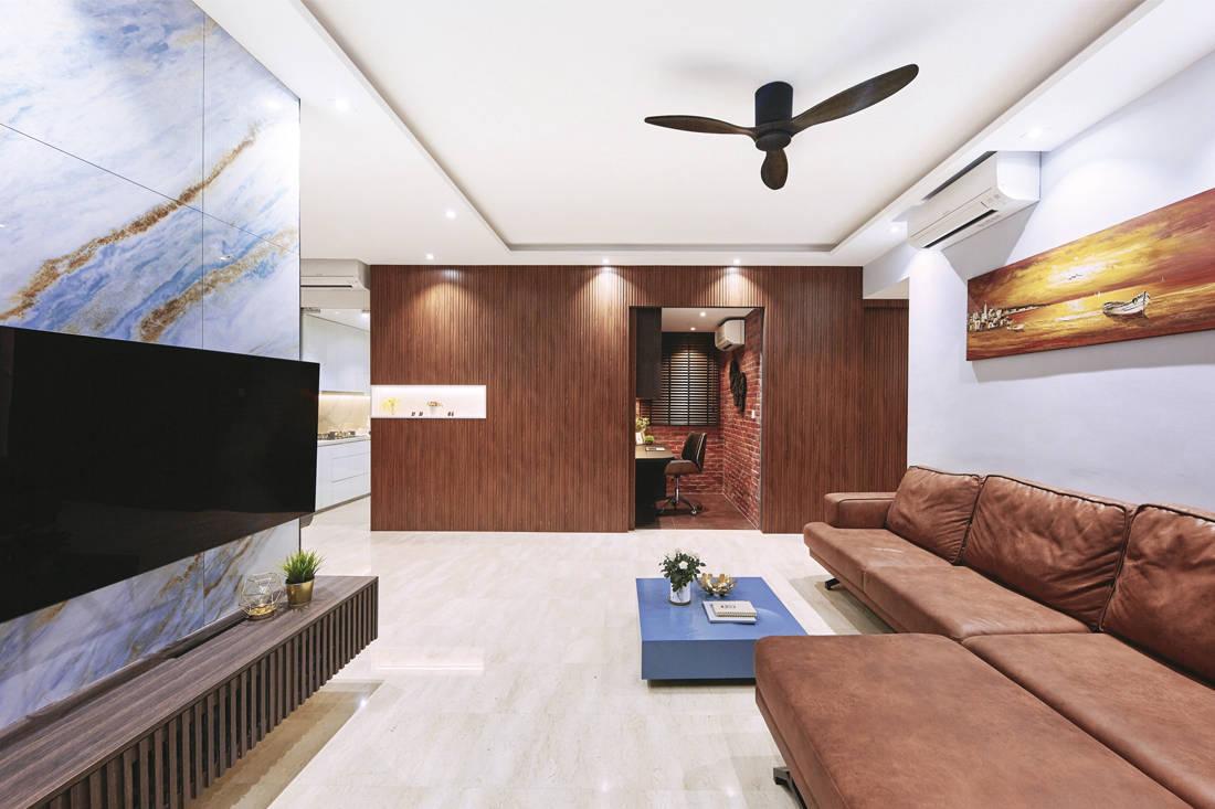 contemporary fusion | Met Interior - living room