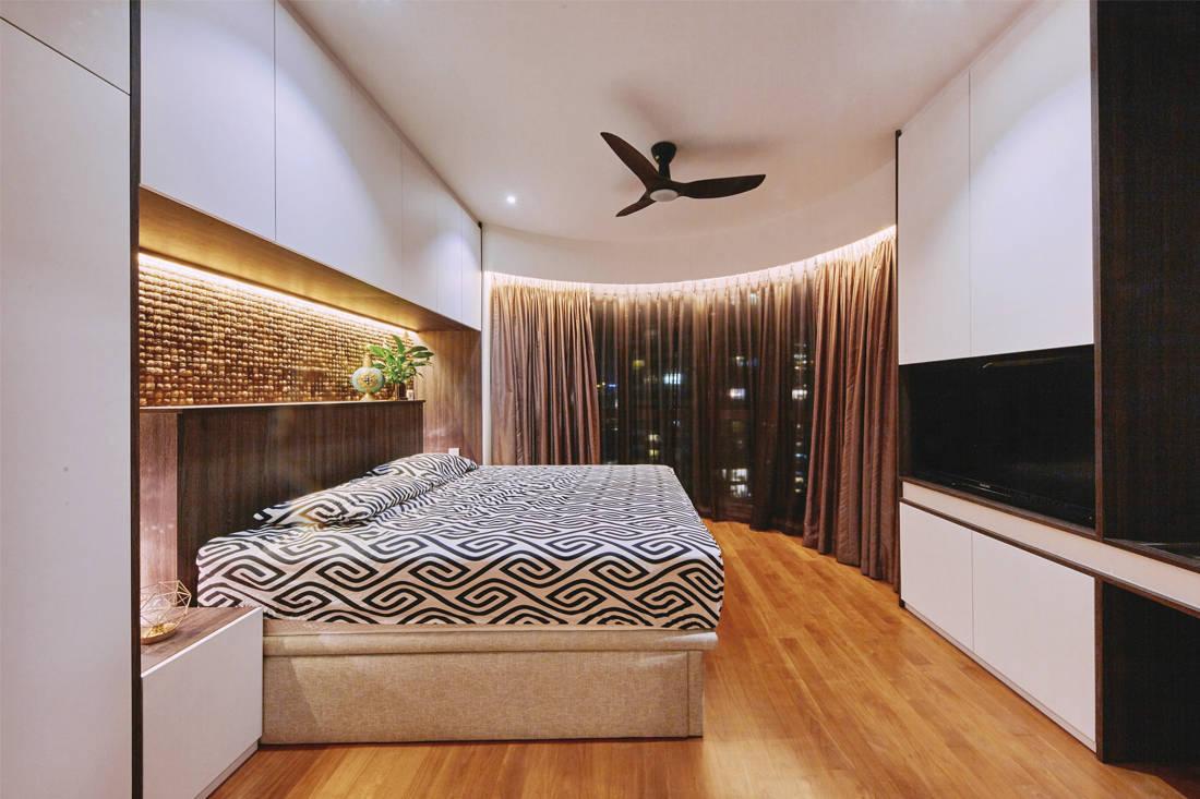 contemporary fusion | Met Interior - bedroom
