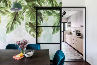 Modern tropicana takes root in this flat
