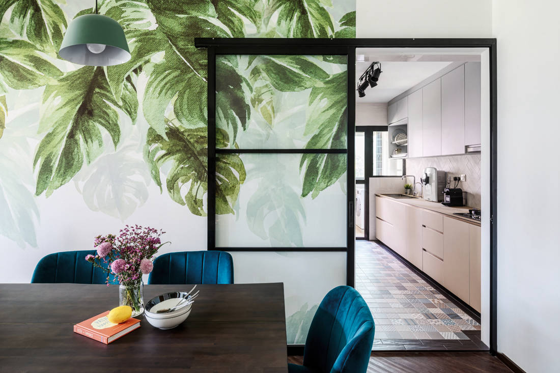 modern tropicana in an HDB flat by Ethereall (4)