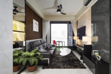 A posh yet family-friendly apartment