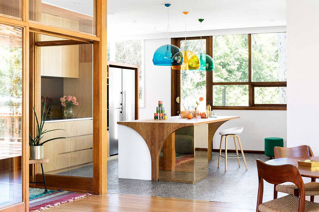 how to inject colour to a space - design by WOWOWA Architecture