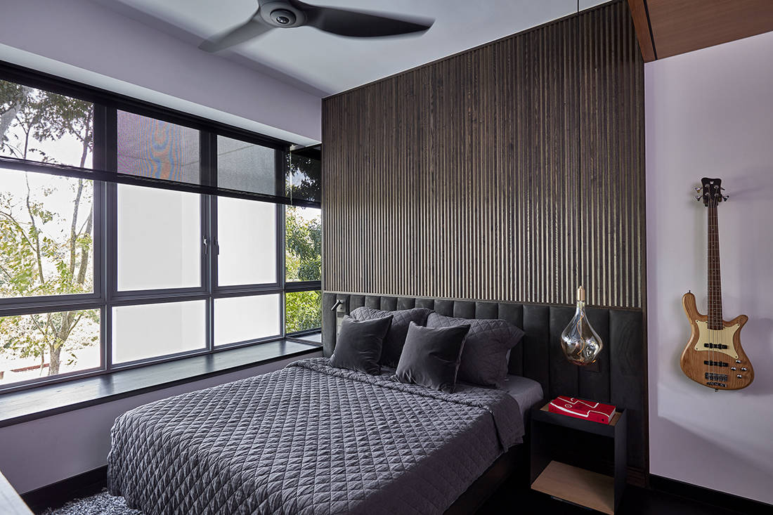 relaxed elegance in son's bedroom designed by Perinelli Design