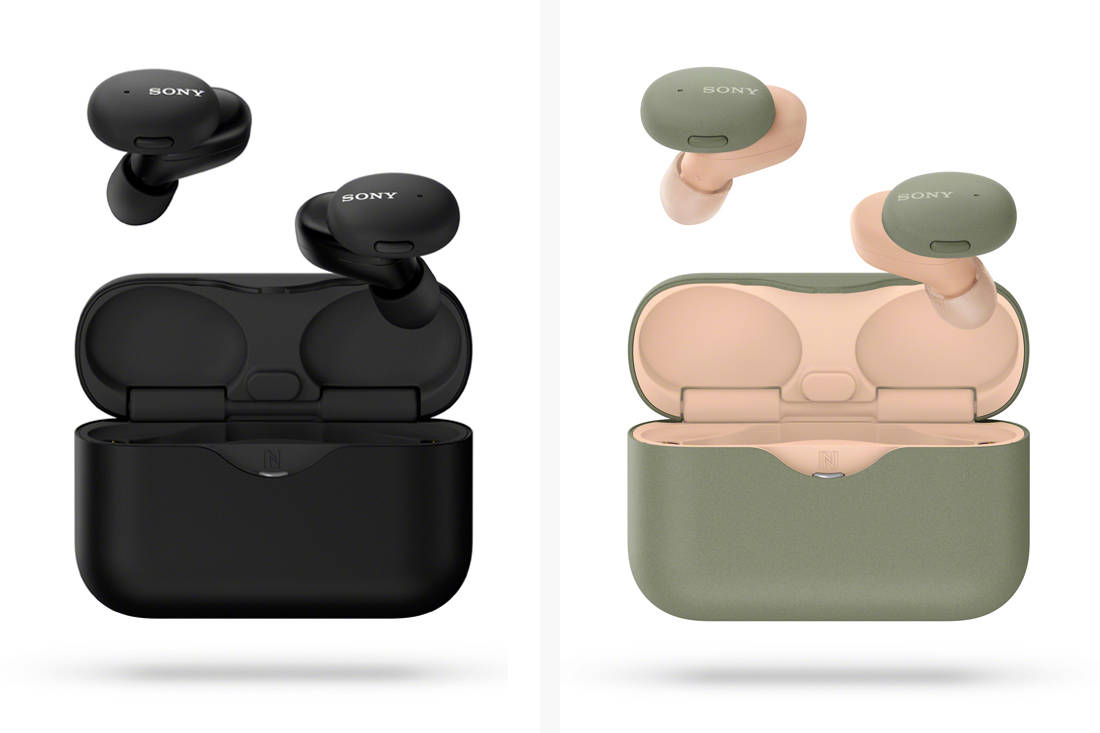 work from home gadget - Sony WF-H800 wireless earphones