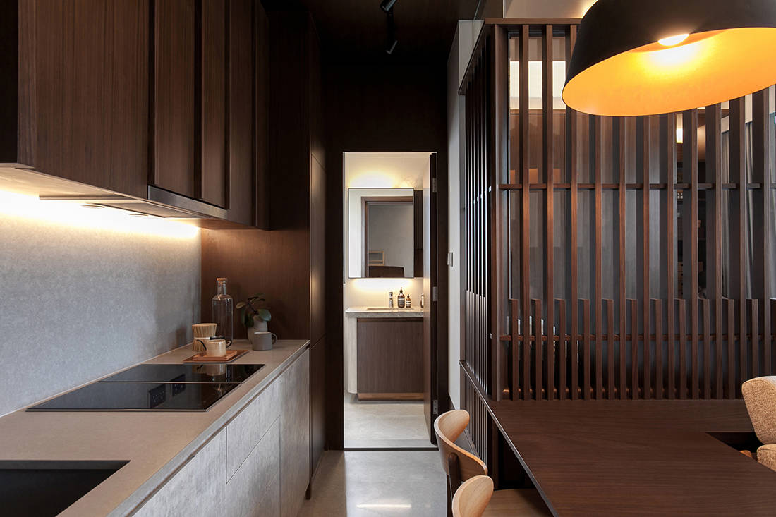 working from home in Alto Residences by Studio Adjective (2)