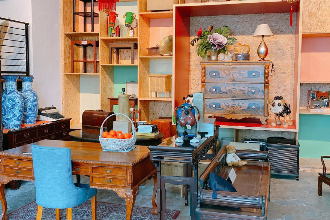 Hock Siong & Co second hand furniture eco-friendly product Singapore