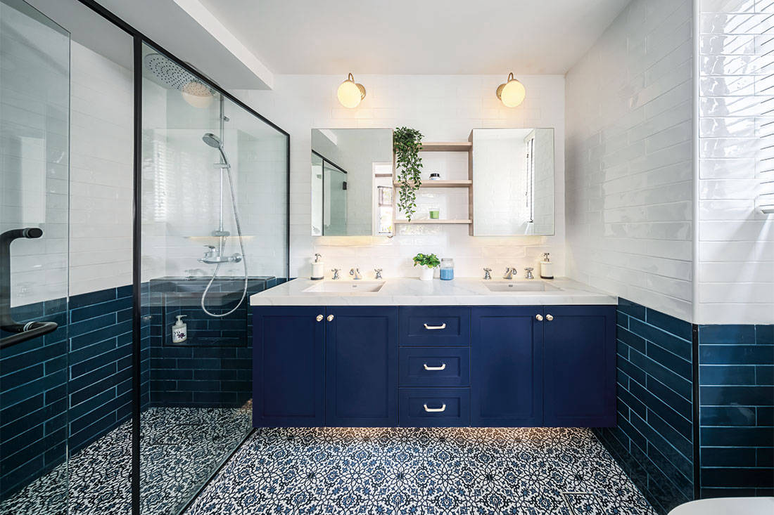 colourful bathroom designs by Ethereall