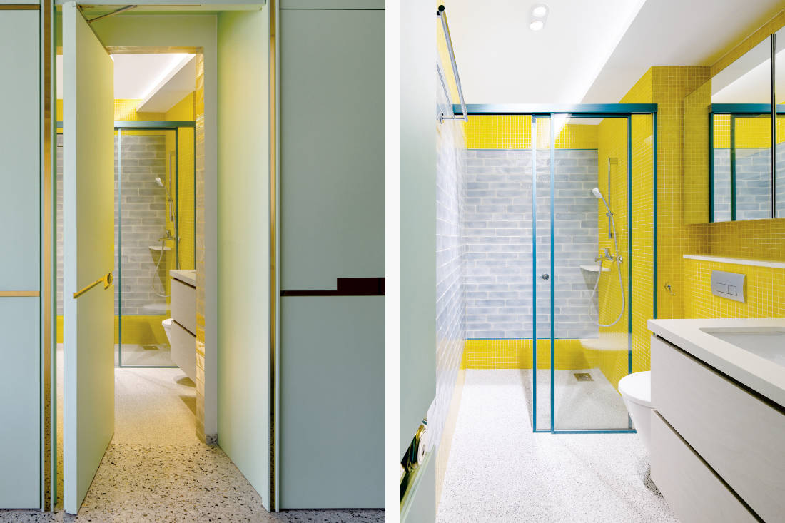 colourful bathroom designs by Linear Space Concepts 2