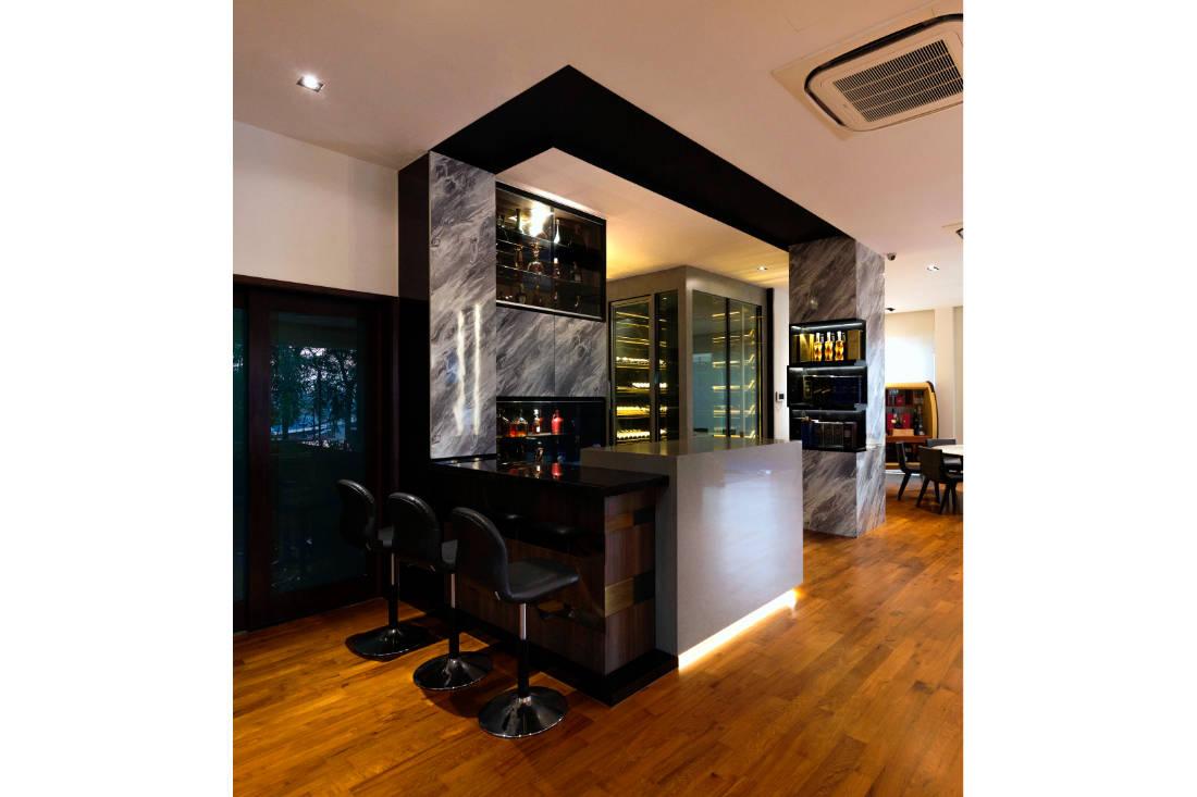 contemporary resale bungalow bar by Vivre Creative Design (2)