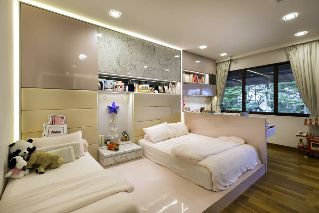 contemporary resale bungalow bedroom by Vivre Creative Design (3)
