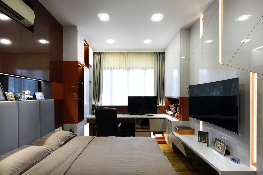 contemporary resale bungalow bedroom by Vivre Creative Design