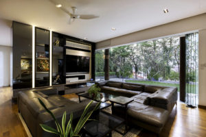 contemporary resale bungalow living room by Vivre Creative Design