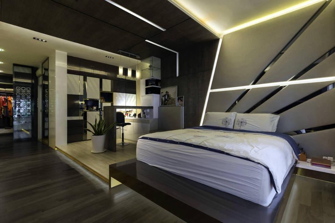 contemporary resale bungalow master bedroom by Vivre Creative Design