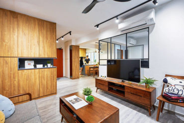 A hobby room and open spaces make this BTO flat special