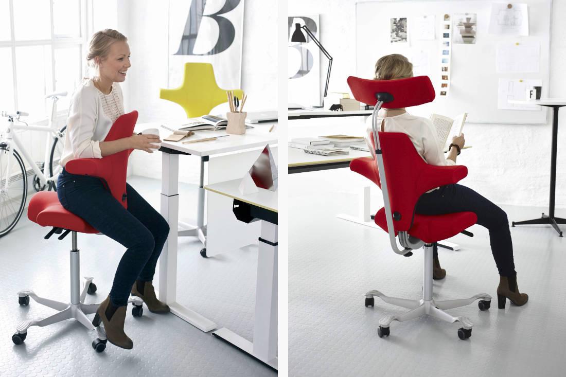 ergonomic chair - Capisco 8106 Chair by HÅG