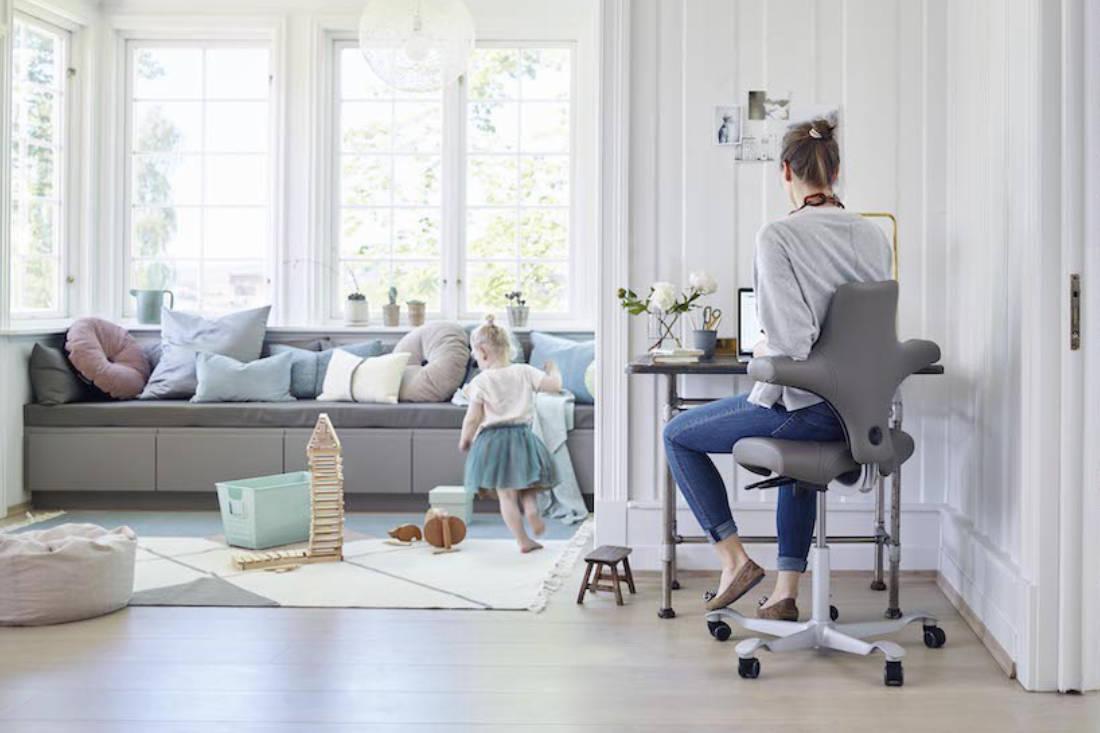 ergonomic chair - HAG Capisco 8106 Leather