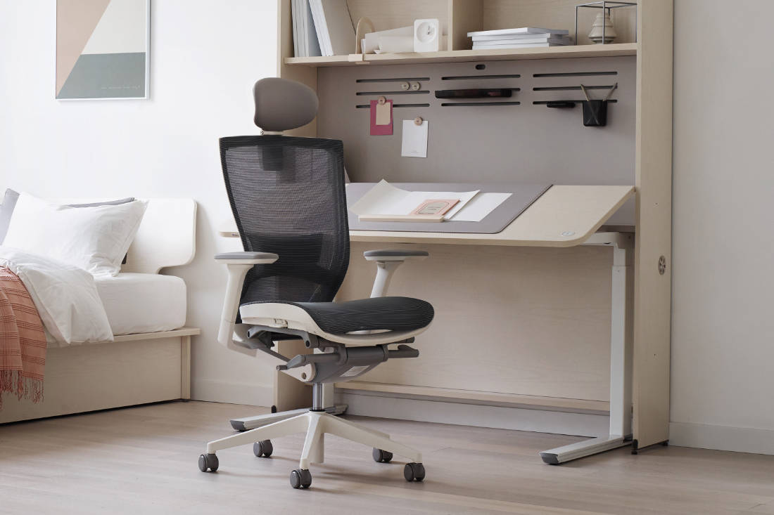 ergonomic chair - I-FIT AIR chair by iloom from Metro