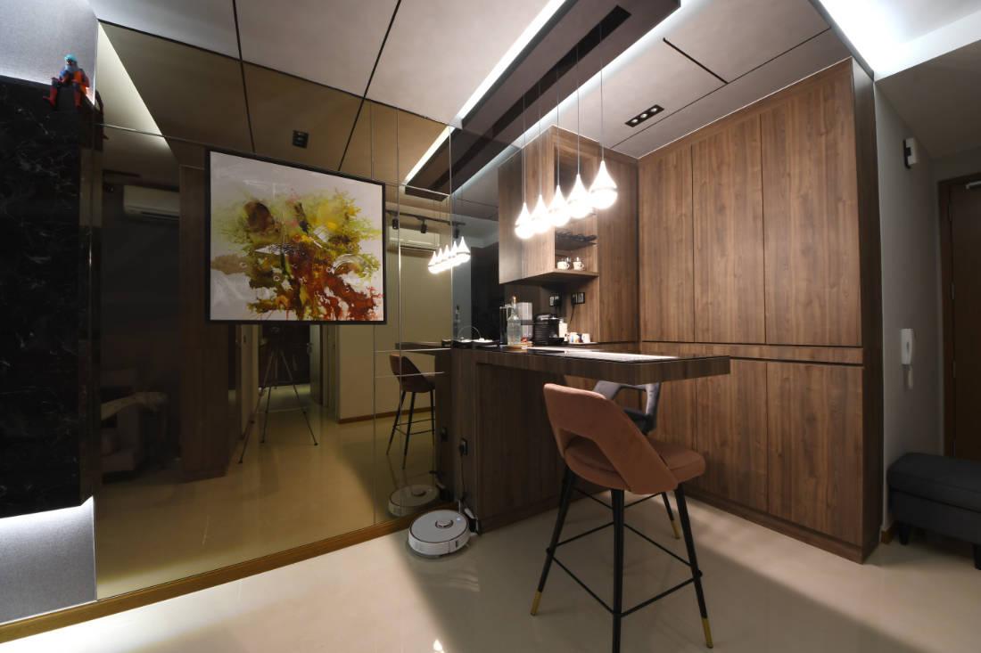 small apartment design by Vivre Creative Design