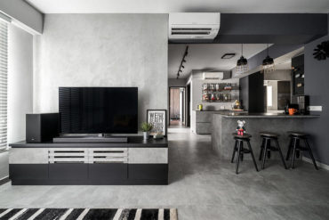 A flat designed for entertaining and baking nails industrial chic
