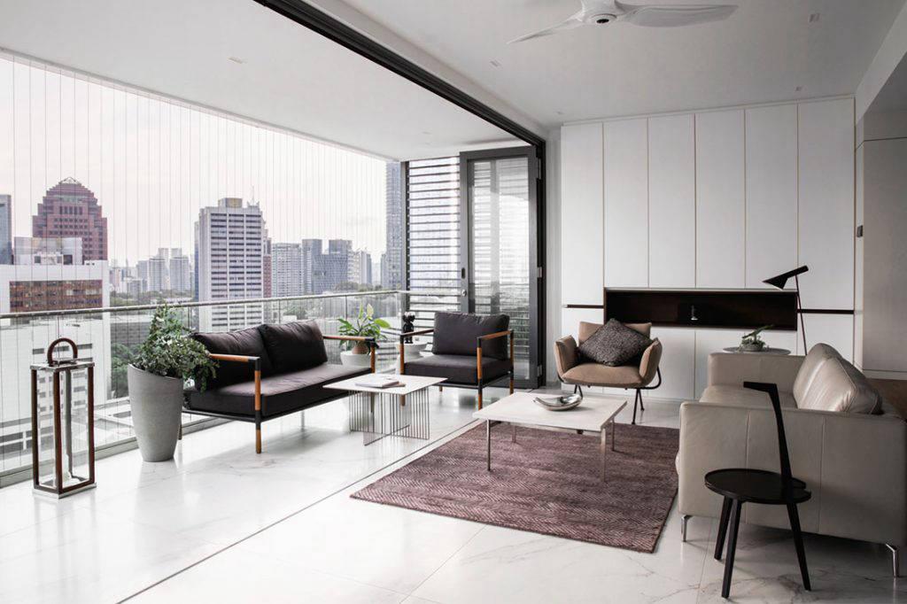 stylish penthouse Hall