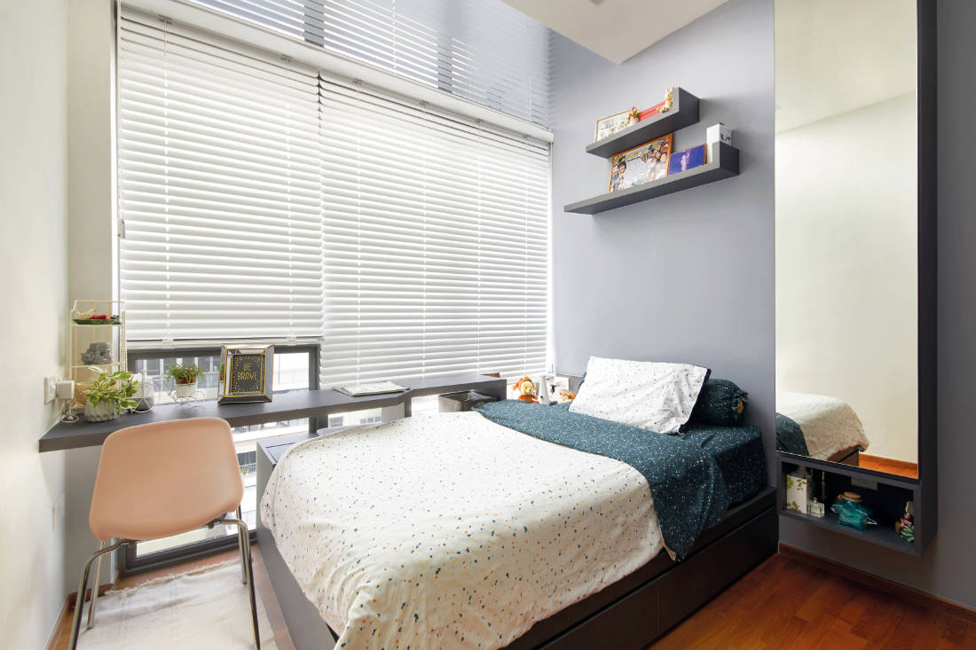 condominium gets glam update by Black N White Haus (2)