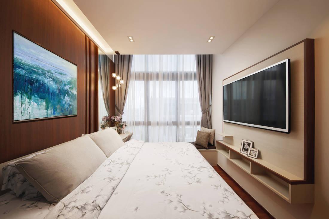 condominium gets glam update by Black N White Haus (3)