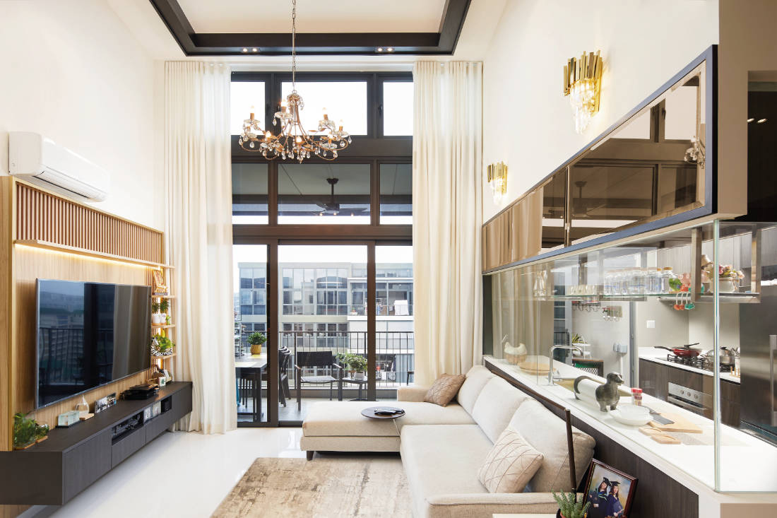 condominium gets glam update by Black N White Haus (5)