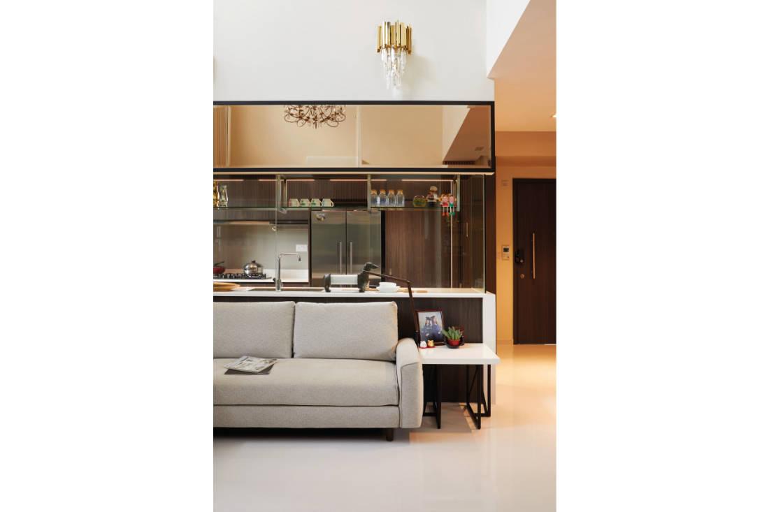 condominium gets glam update by Black N White Haus (6)