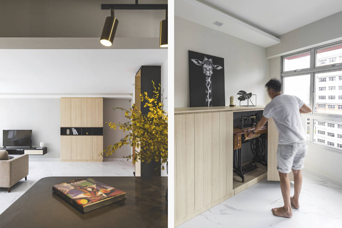 hdb flat designed with limited mobility in mind by Happe Design Atelier (2)