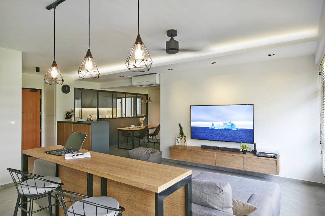 BTO flat for couple by Aart Boxx Interior