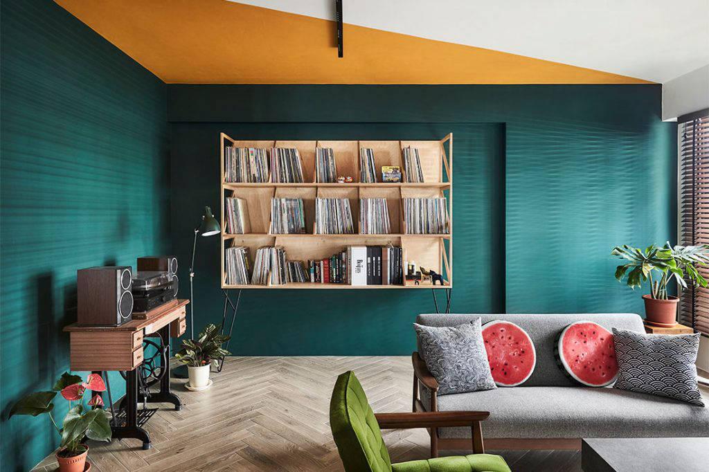 modern-retro Third Avenue Studio