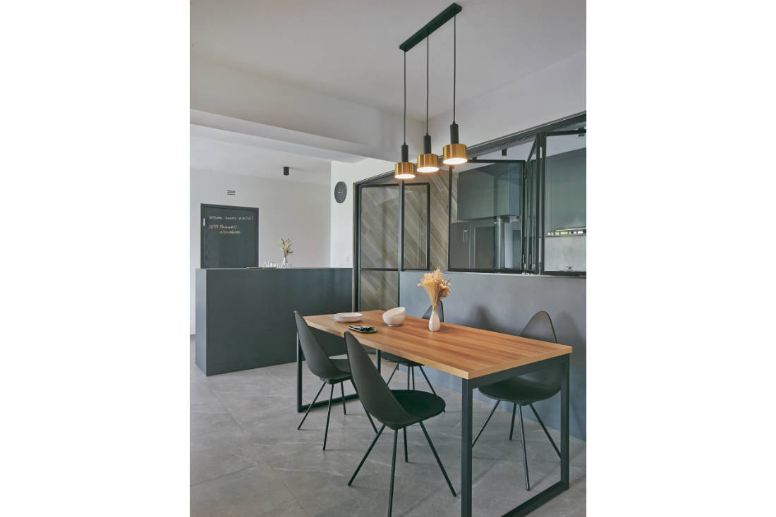 dining area - BTO flat for couple by Aart Boxx Interior
