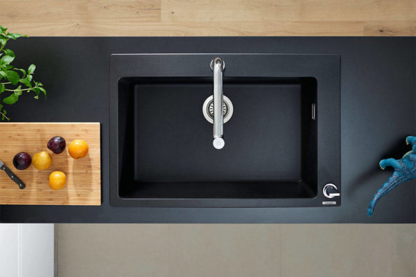 hansgrohe SilicaTec Granite sink for Lookbox Living ID Matching service interior designer