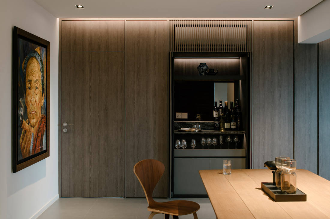 home bar design ideas by JOW Architects