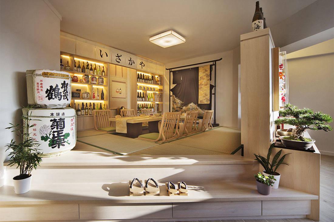 home bar design ideas by Sync Interior