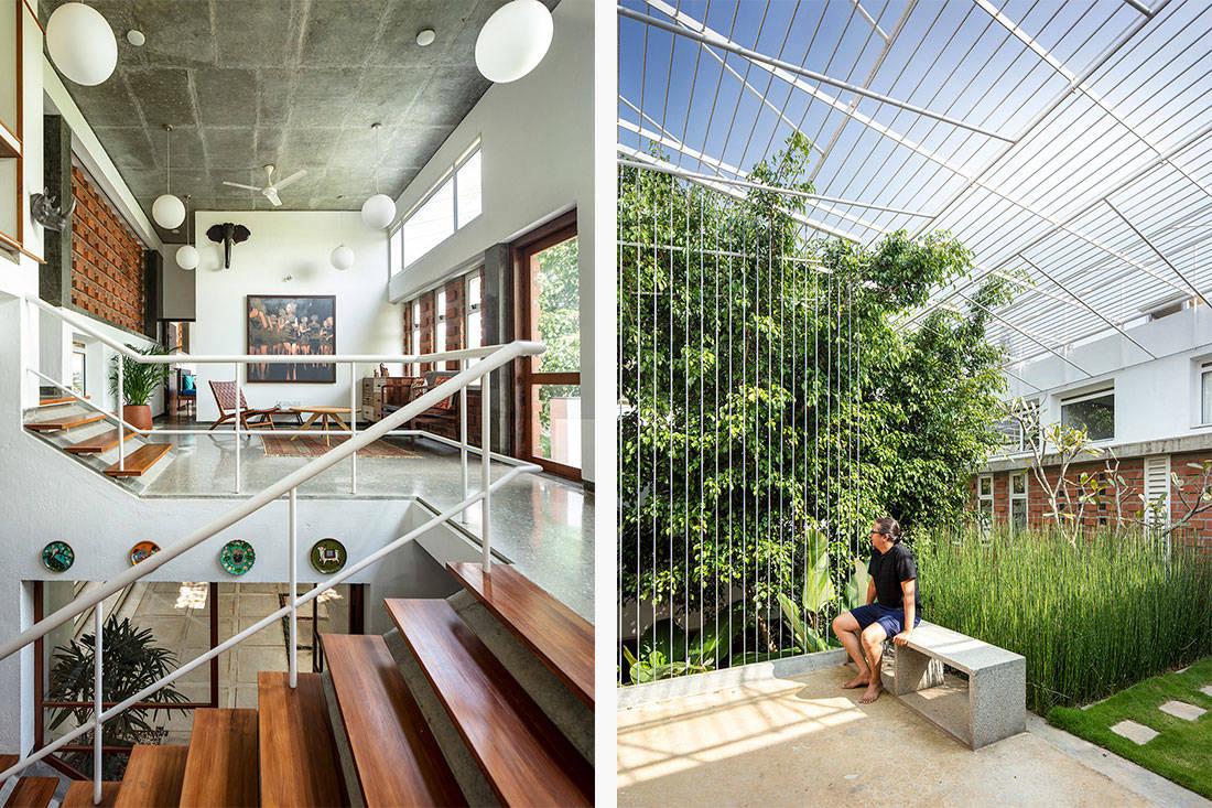greenery Gaurav Roy Choudhury Architects