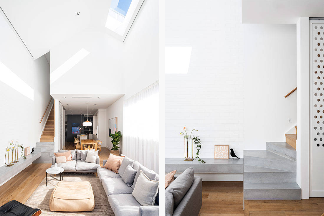 semi-detached Carla Middleton Architecture