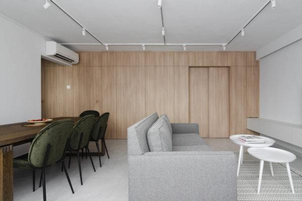 effortless modern-day living in HDB resale flat by Craftsmen Studio