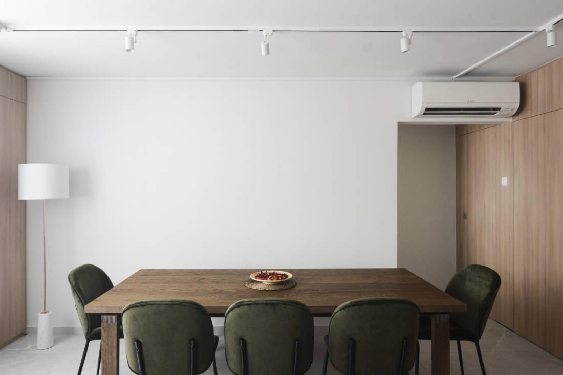 effortless modern-day living in HDB resale flat dining area by Craftsmen Studio (2)