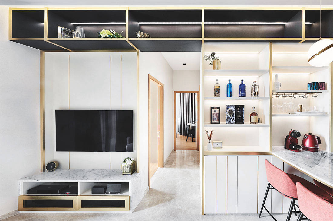 designer Black N White Haus
