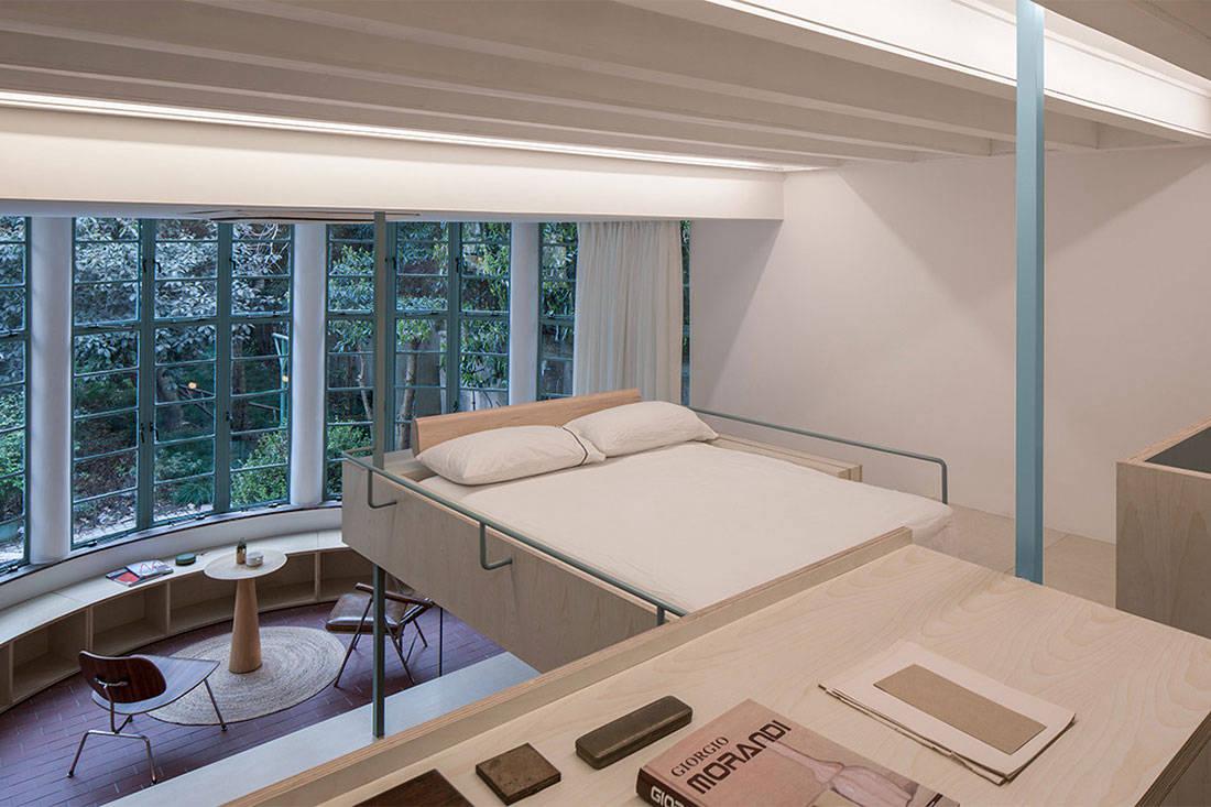 U-shaped room Atelier tao+c