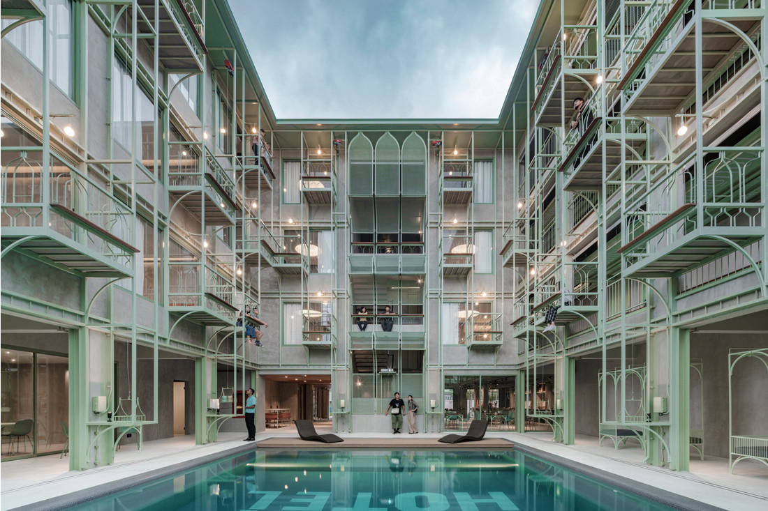 INDE.Awards 2020 Building Winner - Samson St Hotel by CHAT Architects_image by W Workspace