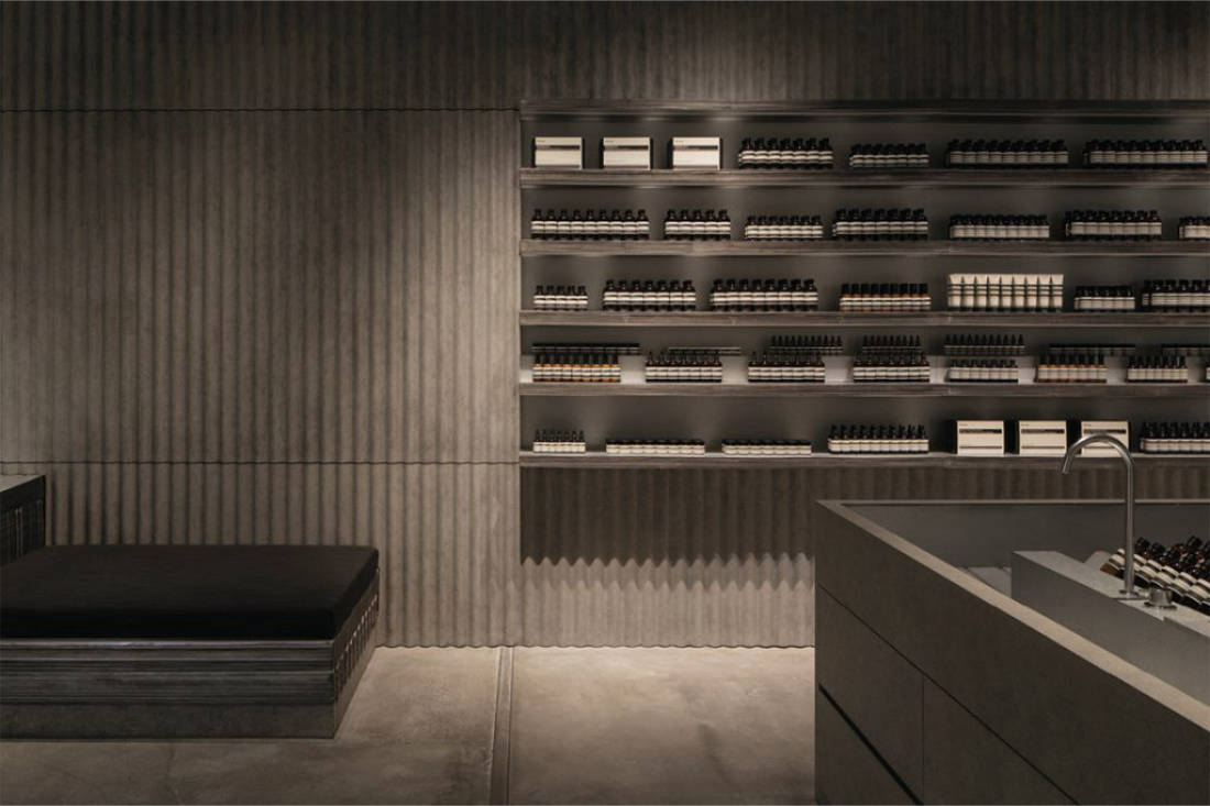 INDE.Awards 2020 The Shopping Space Honourable Mention - AESOP 1 UTAMA by FARM_image by Studio Periphery