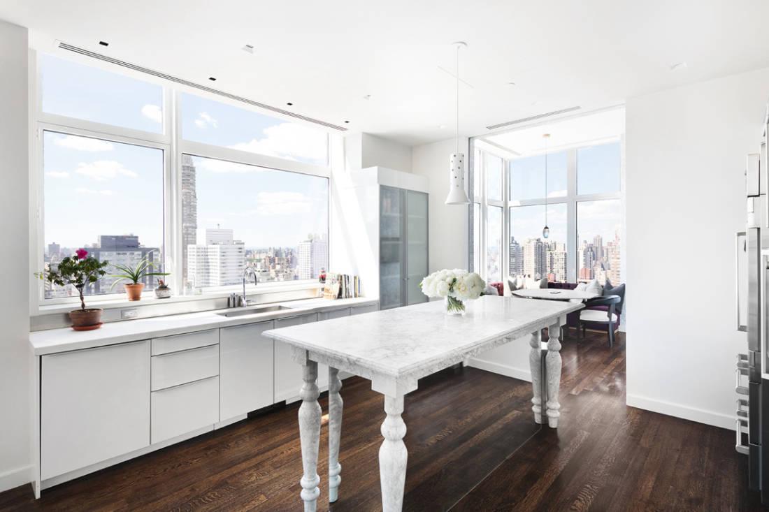 Jennifer Lawrence New York City penthouse kitchen (2)