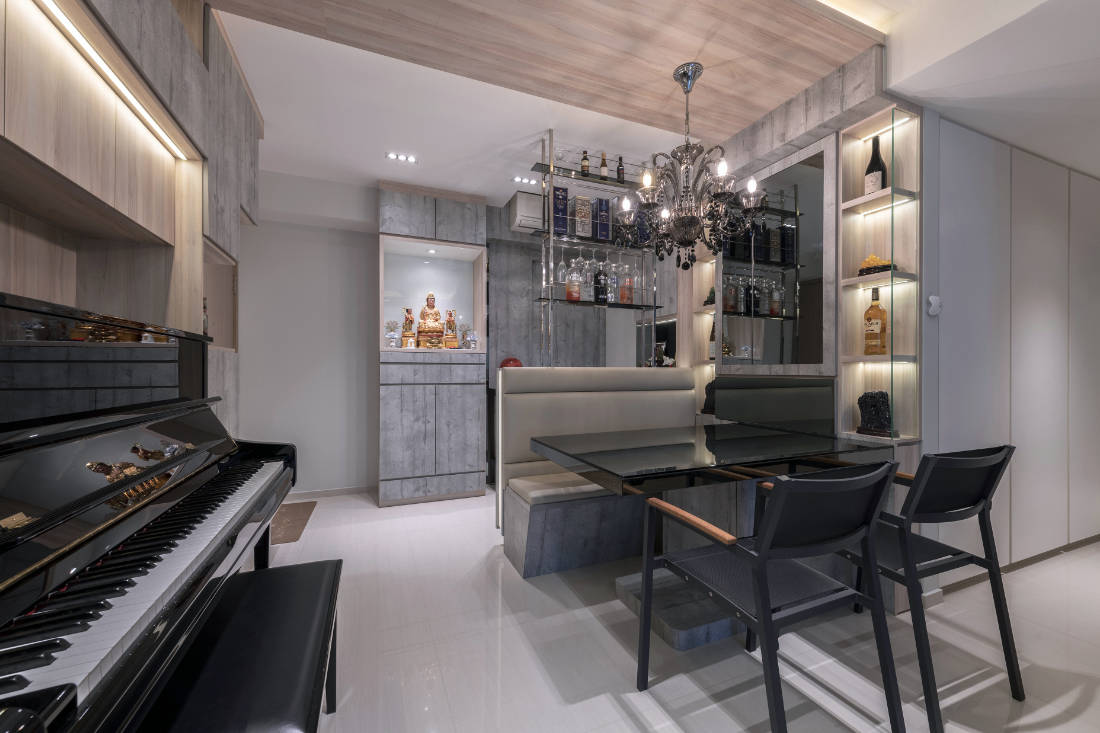 Vivre Creative Design conceives a family home influenced by feng shui (2)