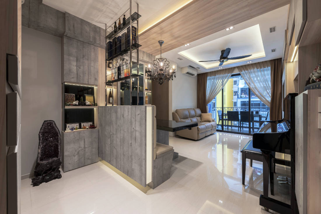 Vivre Creative Design conceives a family home influenced by feng shui (4)